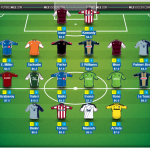 fantasy team lineup