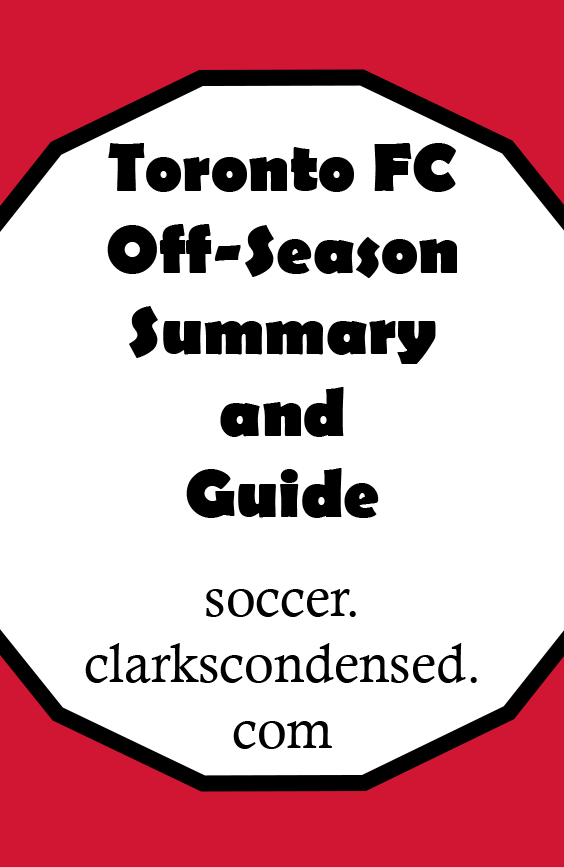 TFC Off-Season Summary