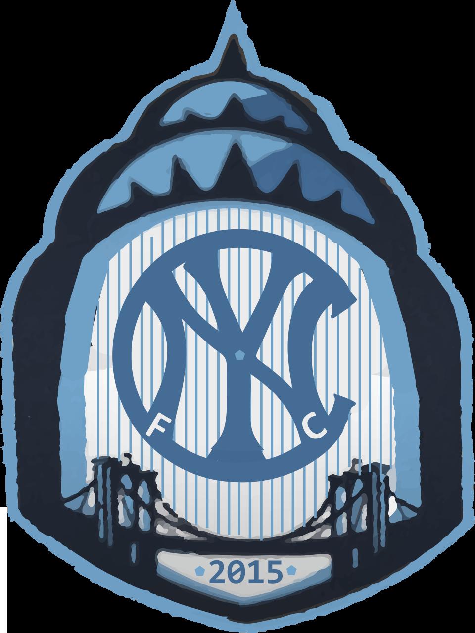 nyc fc crest design idea