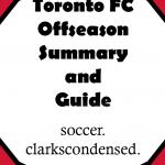 Toronto FC Offseason Summary