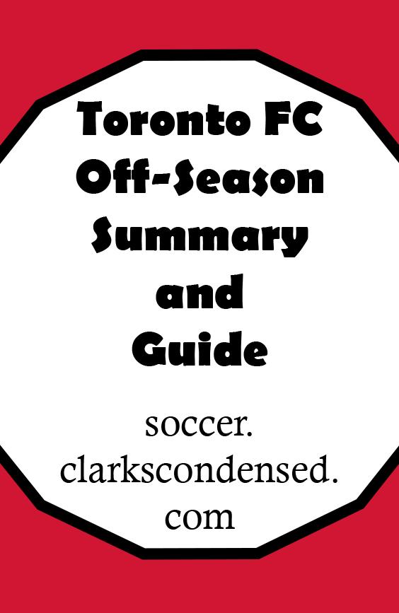 TFC Off-Season Summary